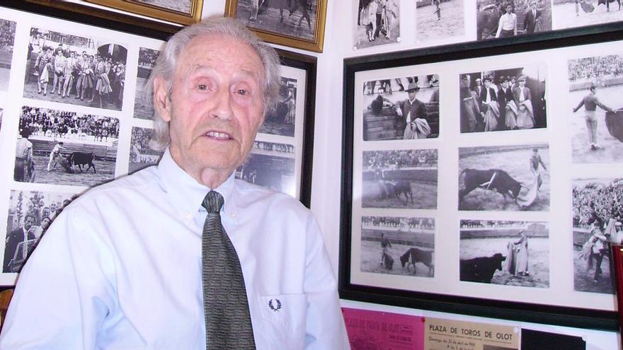 Mor el torero olotí Joaquim Soy, «El Nardo»