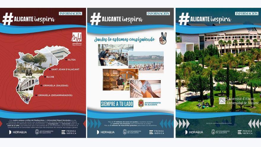#AlicanteInspira, el proyecto de INFORMACIÓN para reactivar la provincia