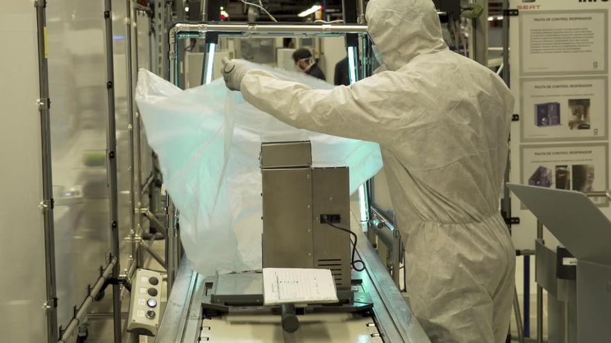 Trabajadores de Seat fabrican respiradores homologados