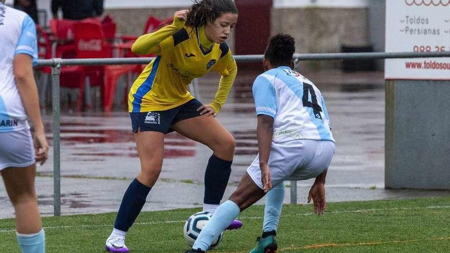 El Rosalía se atraca de goles a costa del Marín