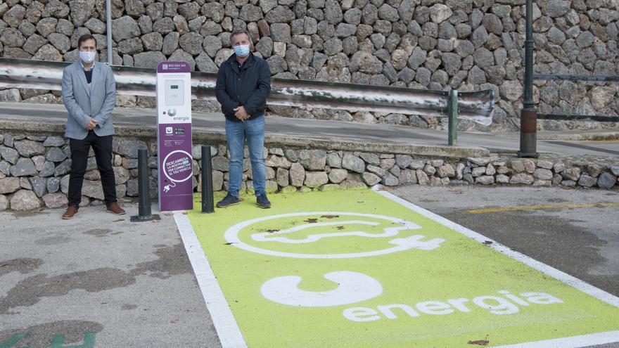 Fornalutx ya dispone de los dos primeros puntos de recarga para vehículos eléctricos instalados por U energia