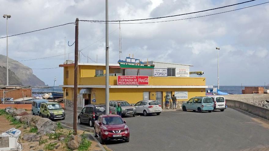 Urbanismo precintará este viernes el restaurante de la Cofradía de Pescadores de San Andrés