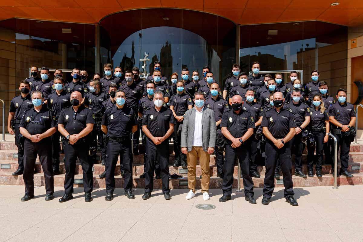 40 nuevos agentes para la Policía Nacional de Ibiza