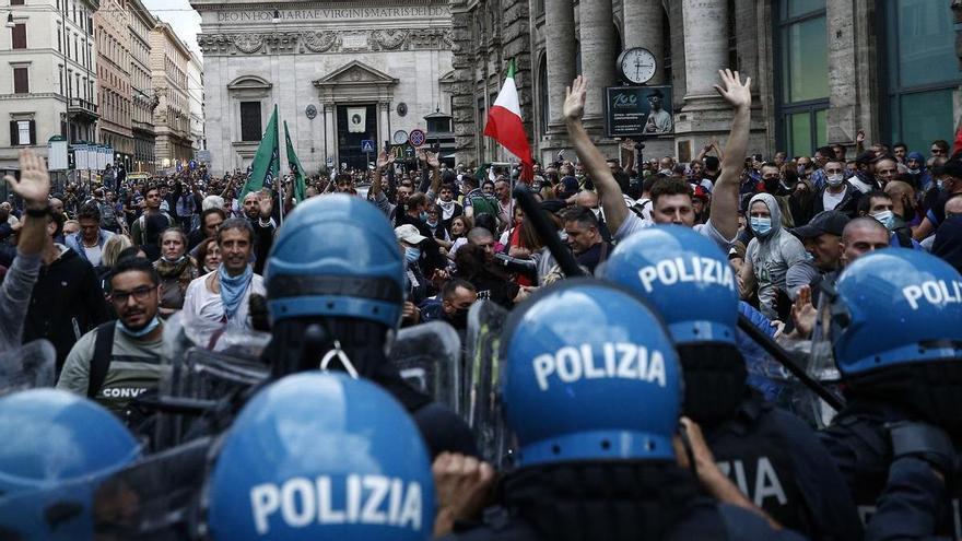 El pasaporte sanitario ya es obligatorio en Italia para trabajar
