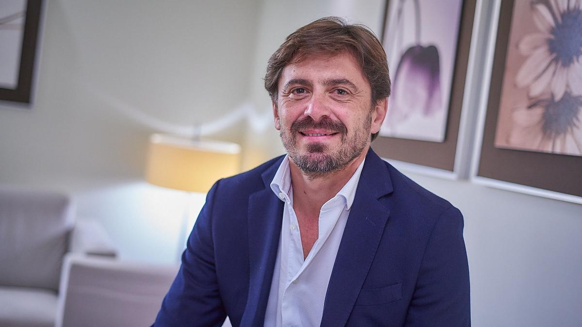 El presidente de la Cehat y Ashotel, Jorge Marichal.