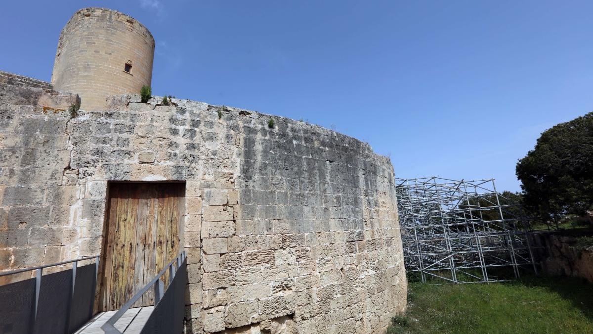 El proyecto de rehabilitación afecta a la parte exterior del castillo.