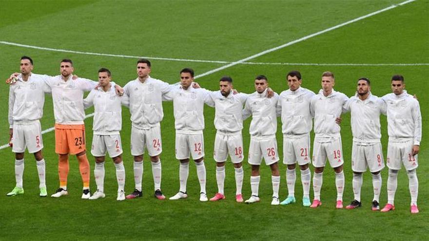 El 1x1 de España contra Italia