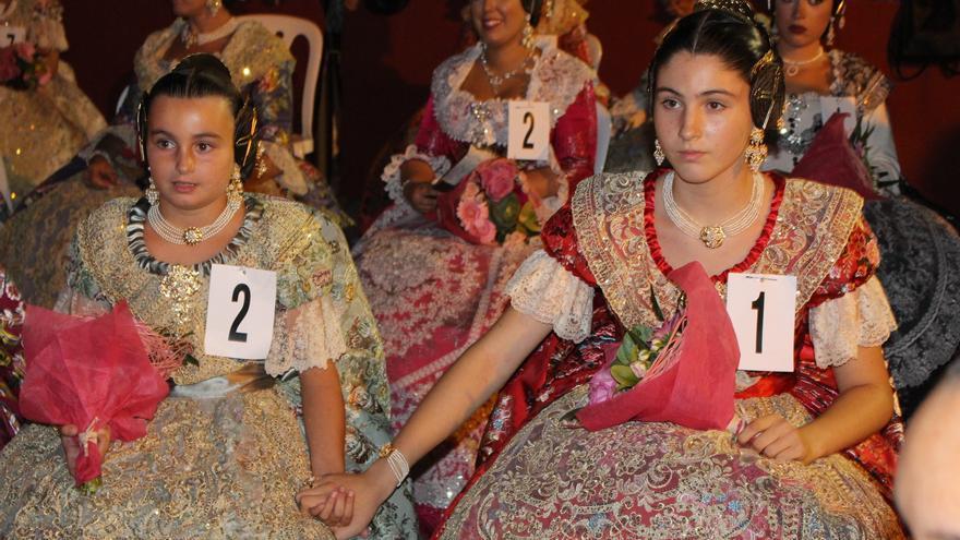 Listado definitivo de candidatas a Fallera Mayor Infantil de València