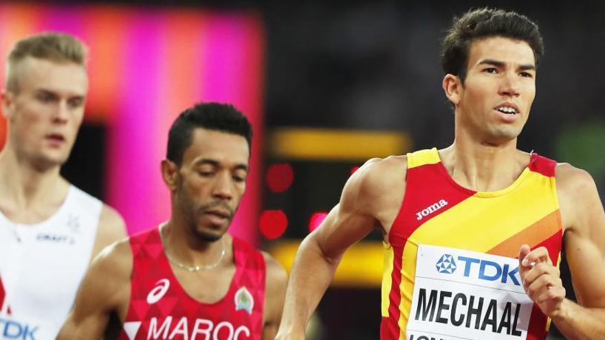 El español Adel Mechaal correrá la final de 1.500