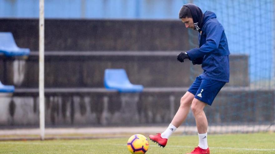 """Omar Ramos: """"Haber tenido menos descanso que el Tenerife no influye para nada"""""""