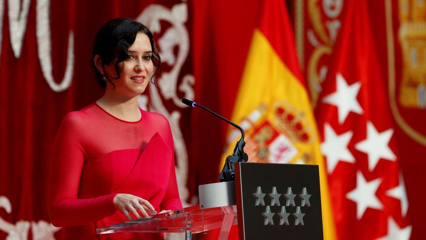 Ayuso toma posesión como presidenta de la Comunidad de Madrid