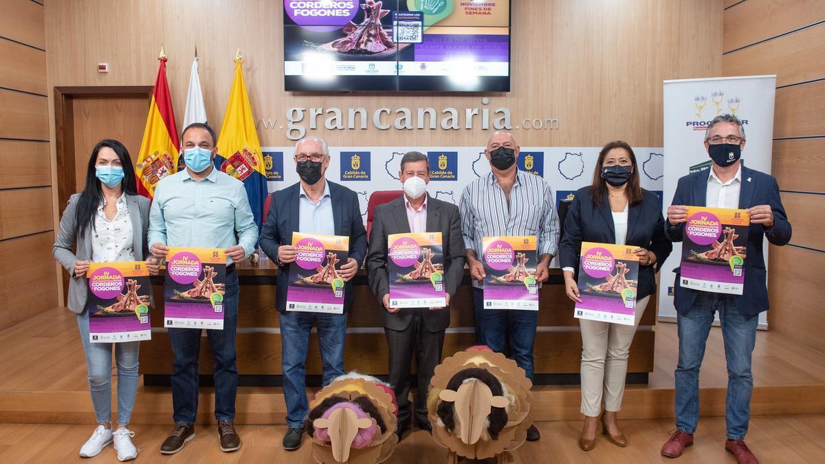 Presentación de la jornada gastronómica Entre corderos y fogones.