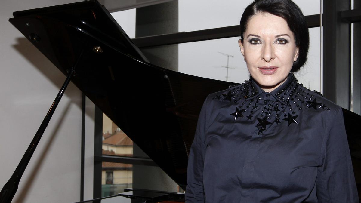 La artista Marina Abramović.