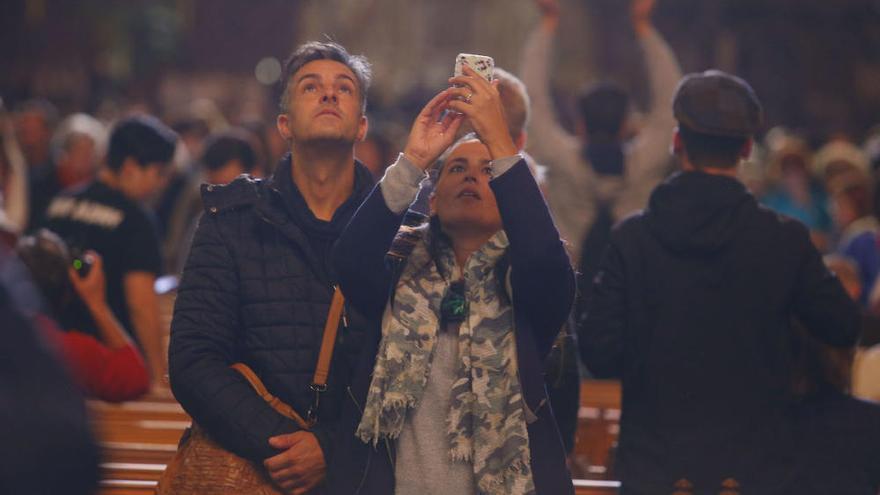 Gute Chancen auf die magische Acht in der Kathedrale von Palma