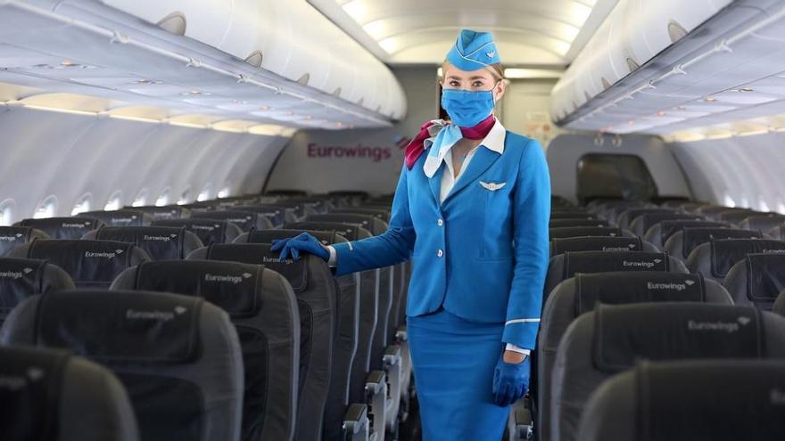 Eurowings schränkt Ausnahmen von Maskenpflicht an Bord ein