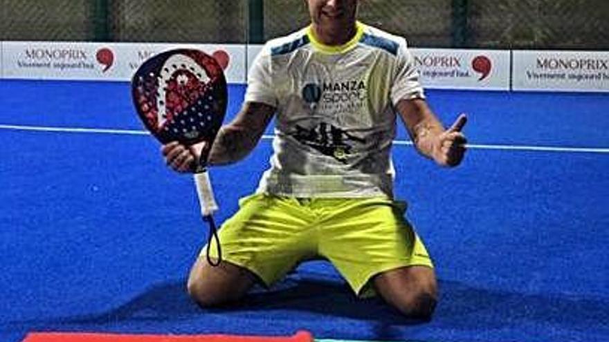 Mario Doncel, subcampeón en el Internacional de Doha