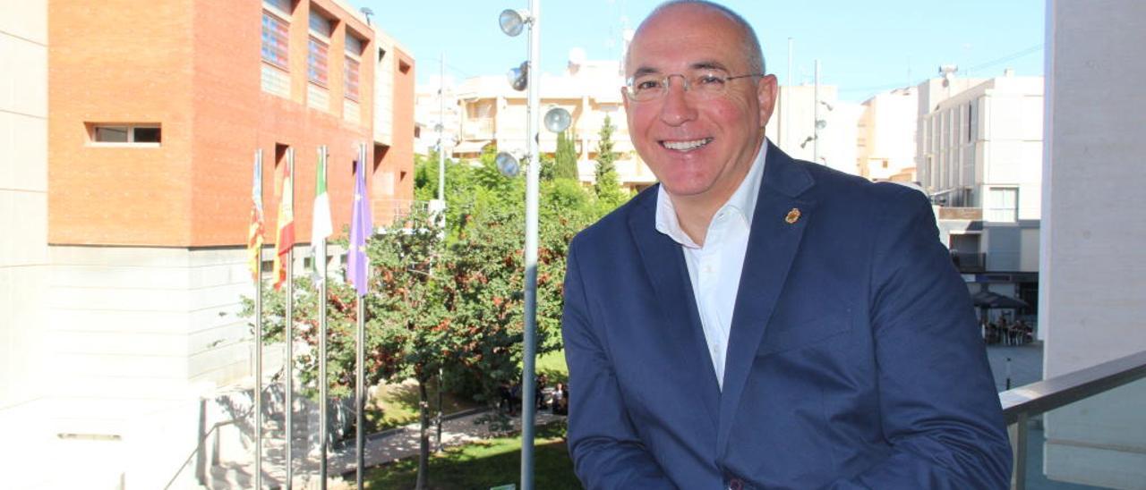 El socialista Jesús Villar, líder de la lista más votada en San Vicente.