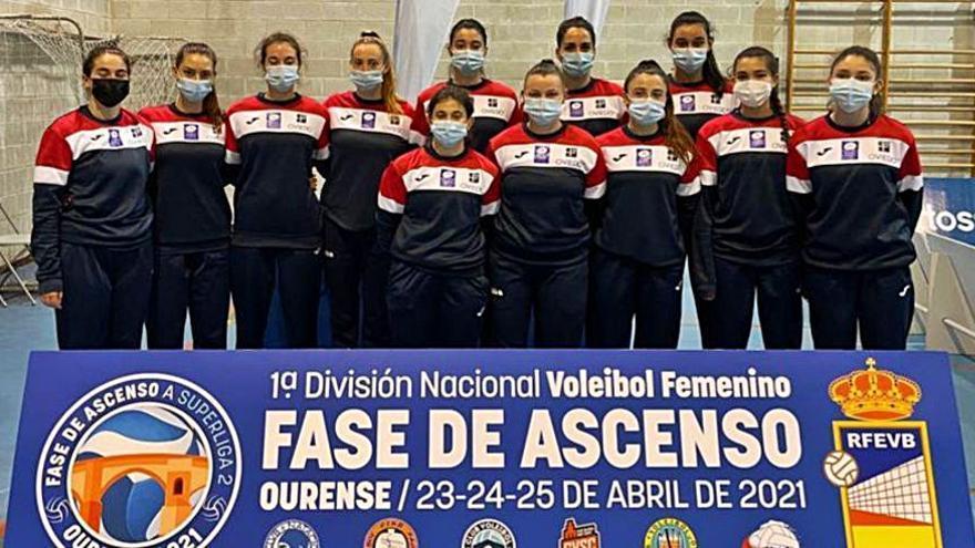 El Club Voleibol Oviedo, con opciones de ascender a la Superliga Femenina 2