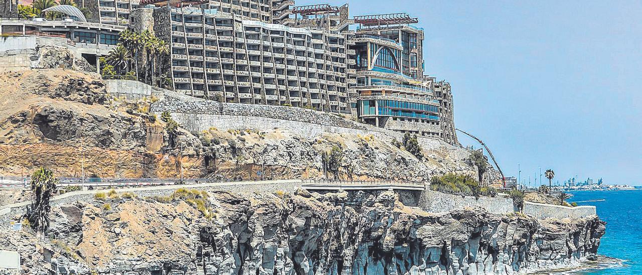El hotel Gloria Palace Amadores, recientemente reformado, en el municipio de Mogán.