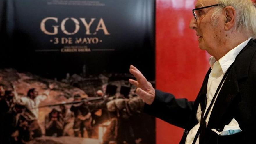 Saura repinta «Los fusilamientos» de Goya