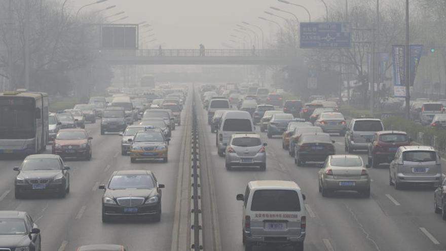 La NASA detecta disminuciones significativas de contaminación en China