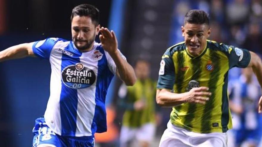 Los postes y Diego López frustran al Deportivo