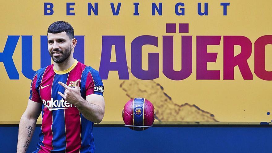Agüero és la primera pedra del nou Barça