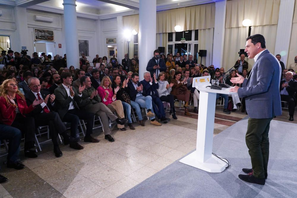 Cierre de campaña de los partidos en Málaga