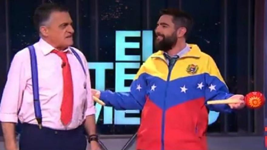 'El Intermedio': Wyoming y Dani Mateo tiran de 'twerking' para analizar la situación en Venezuela