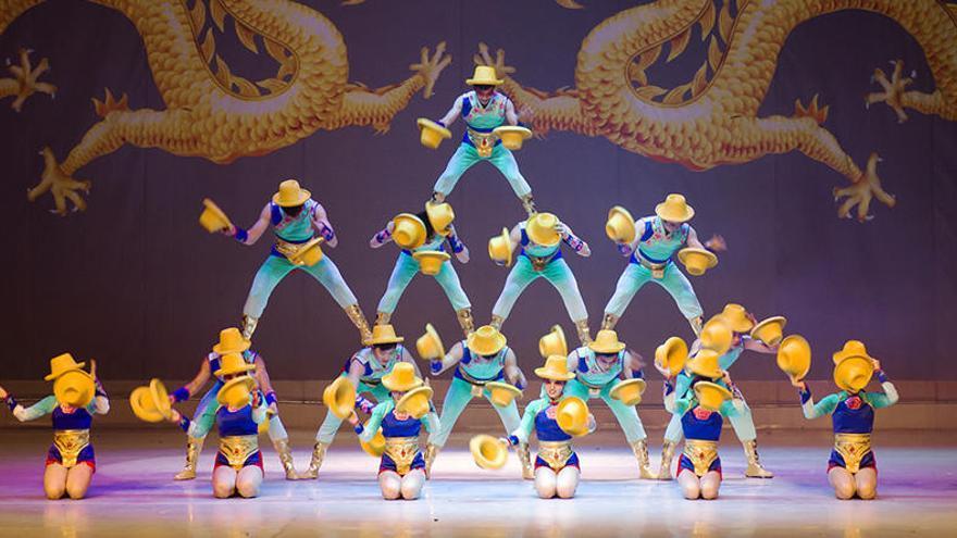 El Gran Circ Acrobàtic Nacional de la Xina arriba aquest dissabte al Kursaal