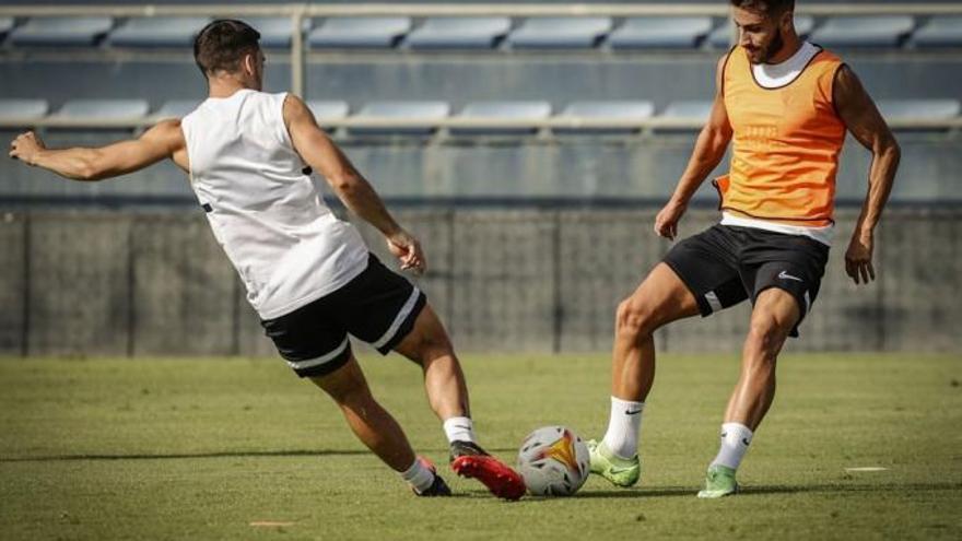 Luis Muñoz y Escassi se pierden el partido ante el Fuenlabrada