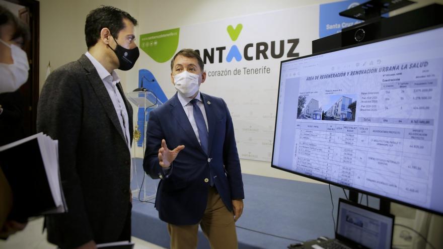 Santa Cruz adjudica la rehabilitación de 26 edificios en tres distritos