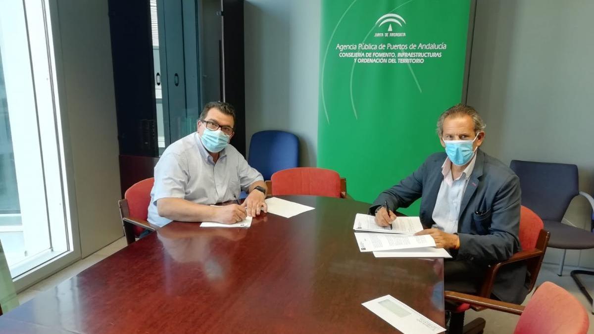 La Junta firma un contrato para la venta de una parcela en el parque logístico de Córdoba