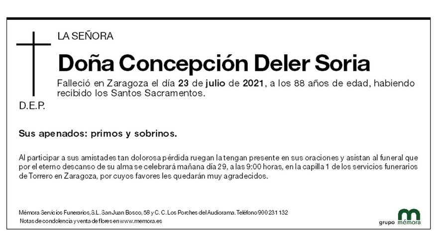 Concepción Deler Soria