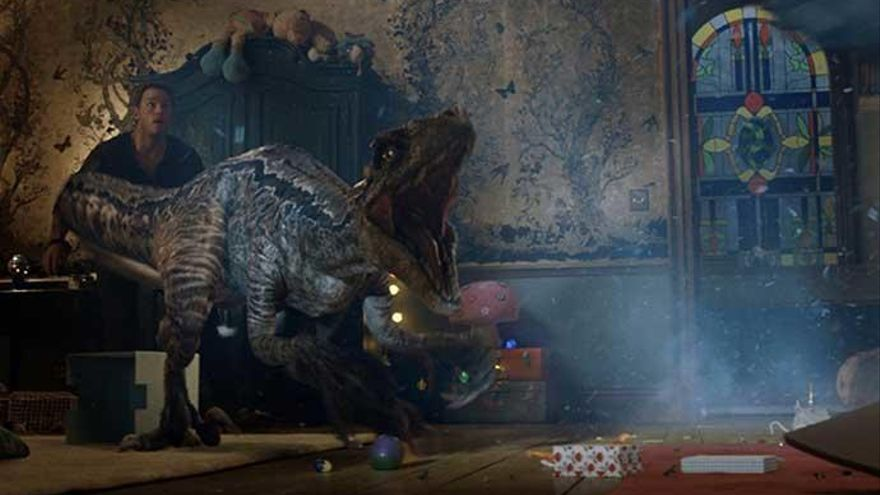 'Jurassic World: El reino caído' ya es el mejor estreno del año en España