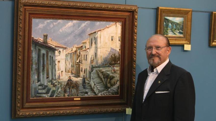 Fallece el pintor Vicente Giner, maestro paisajista y copista del Museo del Prado