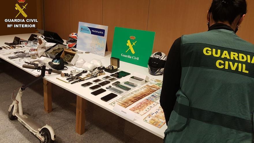 Los detenidos por tráfico de drogas en Pontevedra quedan en libertad con cargos
