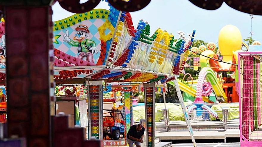 El parque de atracciones abrirá el próximo jueves en la explanada del Palmetum