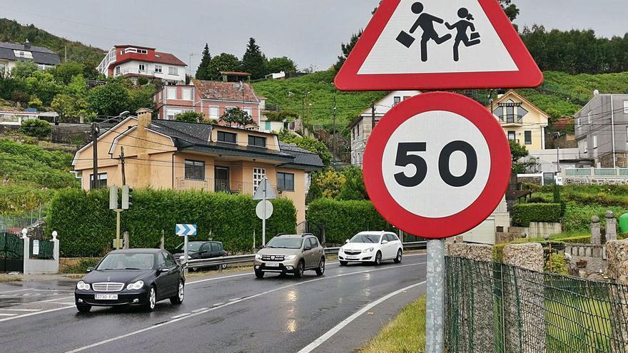 Moaña seguirá circulando a 50 Km/h por la PO-551