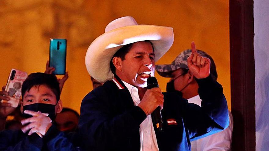 El candidat de les esquerres Pedro Castillo és el nou president del Perú