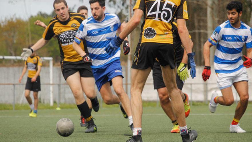 PuntoGal patrocina as seleccións galegas de fútbol gaélico nos xogos mundiais de Irlanda que comezan o 28 de xullo