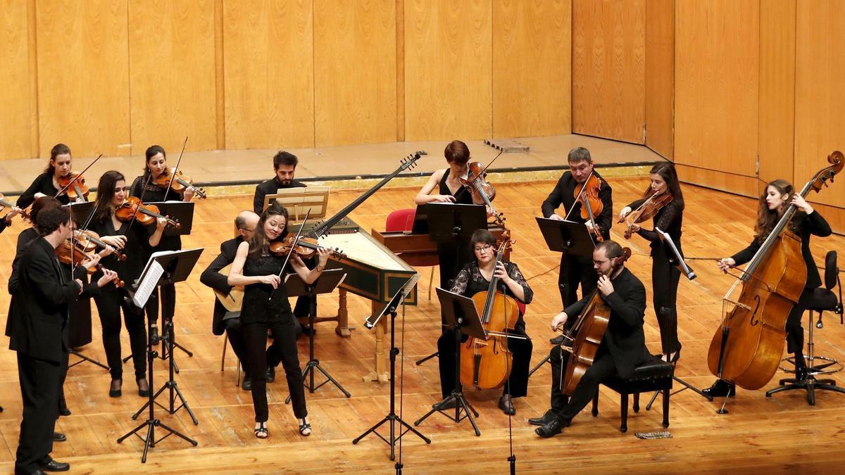 Sección barroca de la Orquesta Vigo 430