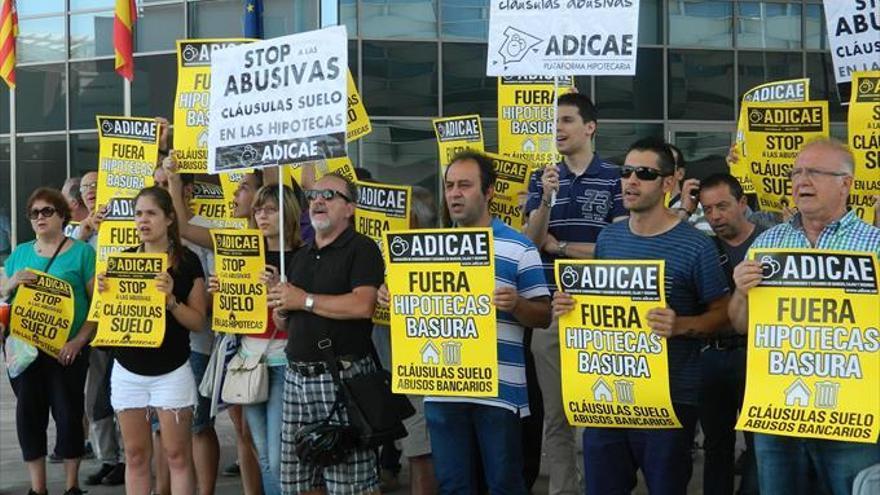 Aragón registra más de mil nuevas demandas bancarias en septiembre