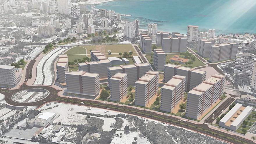 Nueva imagen para las 1.500 viviendas sin construir desde hace 30 años en la Albufereta