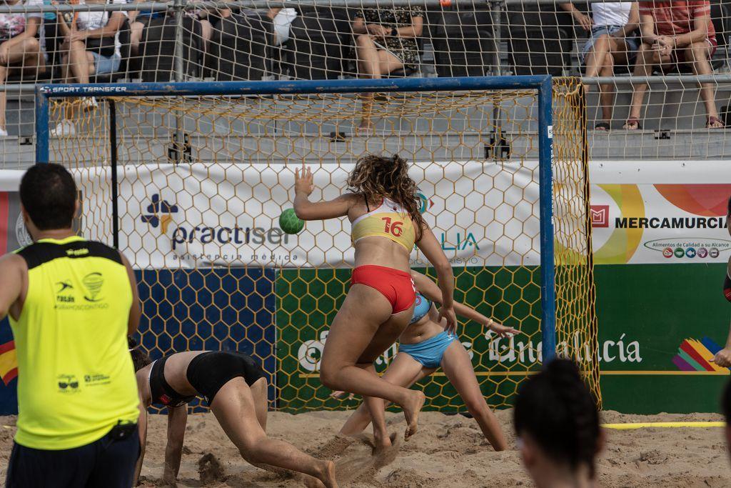 Campeonato de balonmano playa en La Manga