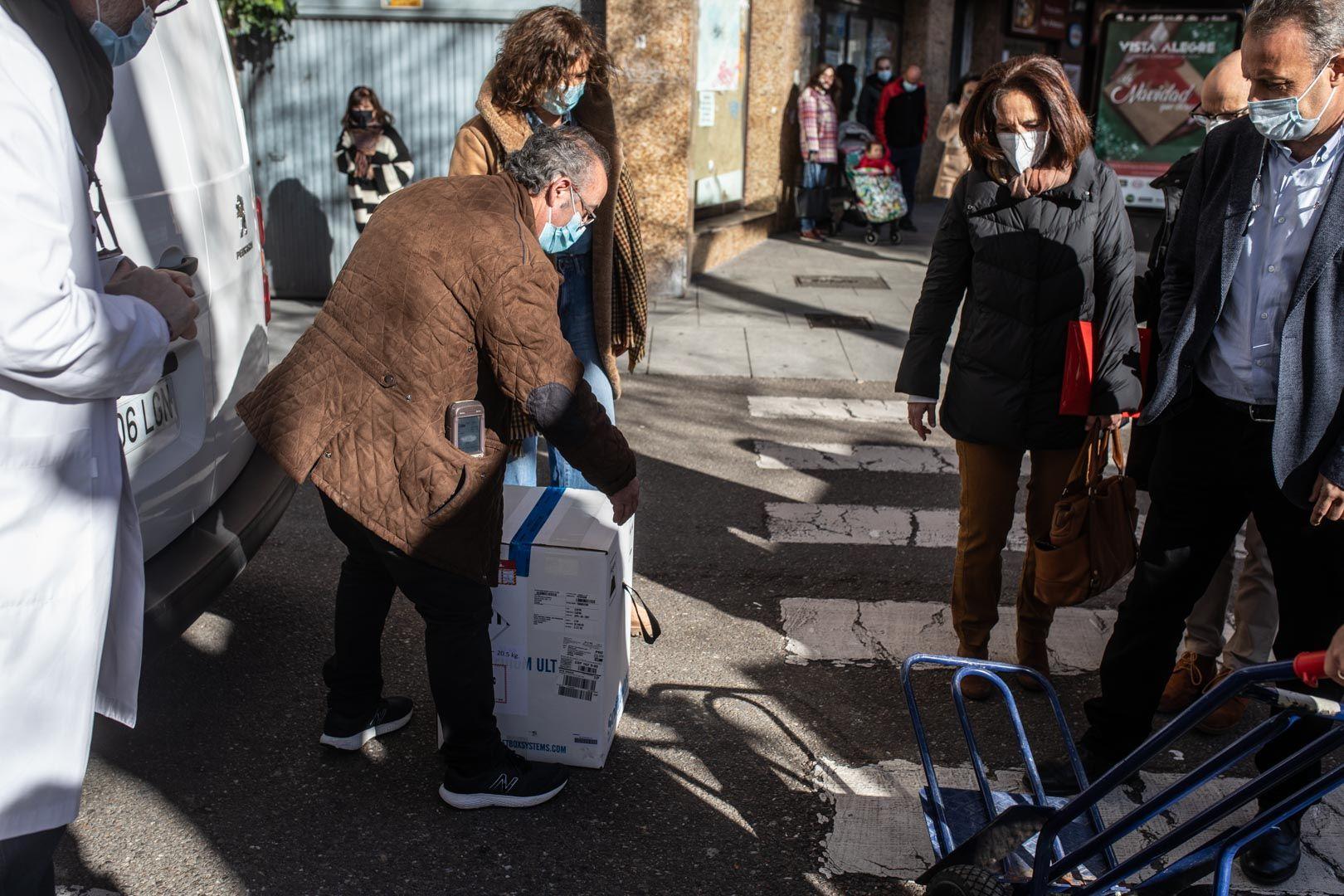 GALERÍA| Las vacunas contra el coronavirus llegan a Zamora