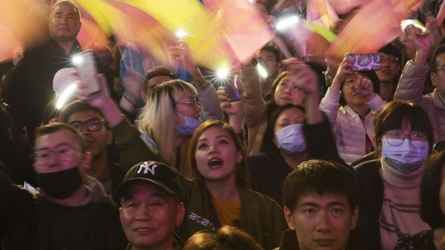 Taiwan otorga la victoria en las elecciones a Tsai Ing Wen