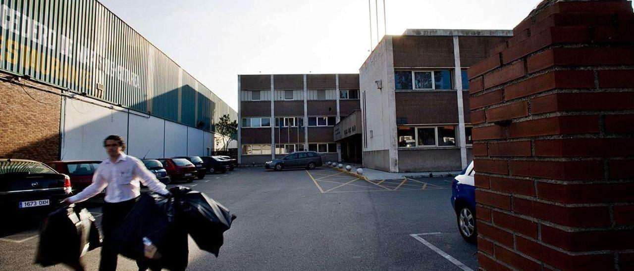 La sede del Instituto Social de la Marina en Avilés.