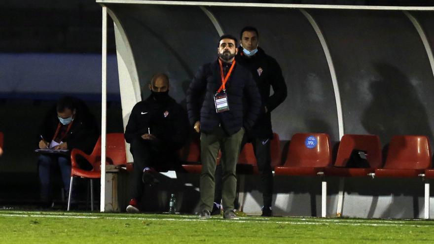 Las sensaciones de David Gallego tras el pase del Sporting en Copa del Rey
