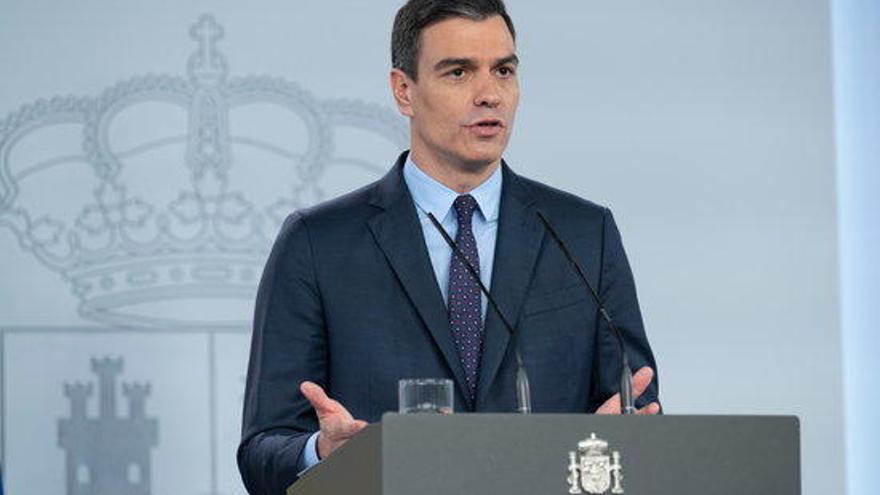Sánchez preveu no prorrogar l'estat d'alarma més enllà de 9 de maig